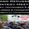 Unionist and Refugee Activist Strategy Meeting – Sat Nov 9, 1pm @ ANMF House
