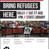 1pm 27 Aug | Post-Election Rally
