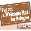 Put Out a Welcome Mat for Refugees: 7 December
