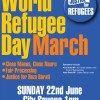 World Refugee Day Rally