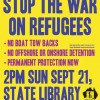 Protest the 1st Anniversary of Operation Sovereign Borders