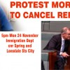 PROTEST Morrison's bill to bring in TPVs and cancel refugee rights – 5pm Mon Nov 24, Imm Dept
