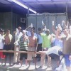 Manus asylum seekers denied water – video and pictures