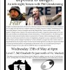 What happens to people deported to danger? Forum with Phil Glendenning: Wed May 13th at 6pm