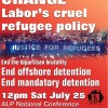 RALLY to CHANGE Labor's cruel refugee policy