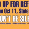 Stand Up for Refugees Rally | 2pm Oct 11
