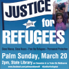 2pm March 20 | Walk for Justice for Refugees