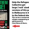 """BRING THEM HERE!"" POSTER CROWDFUNDING CAMPAIGN"