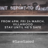 MEDIA RELEASE  | REFUGEE ACTIVISTS ACTION TO PREVENT DEPORTATION FROM VILLAWOOD