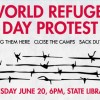 World Refugee Day Protest