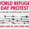 World Refugee Day Protest