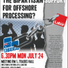 6:30 Mon Jul 24 | Forum: How Can We Break the Bipartisan Support for Offshore Processing?