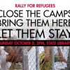 2pm Sun 8 Oct | Rally for Refugees