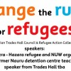 CHANGE OF VENUE 6:30pm 23/04 | Forum: Change the rules for refugees