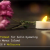 Video: Vigil for Salim