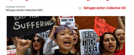 Pledge to vote for refugee rights