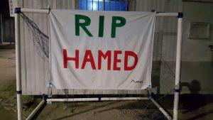 Hamed Manus vigil RIP