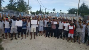 Water protest 15 Nov